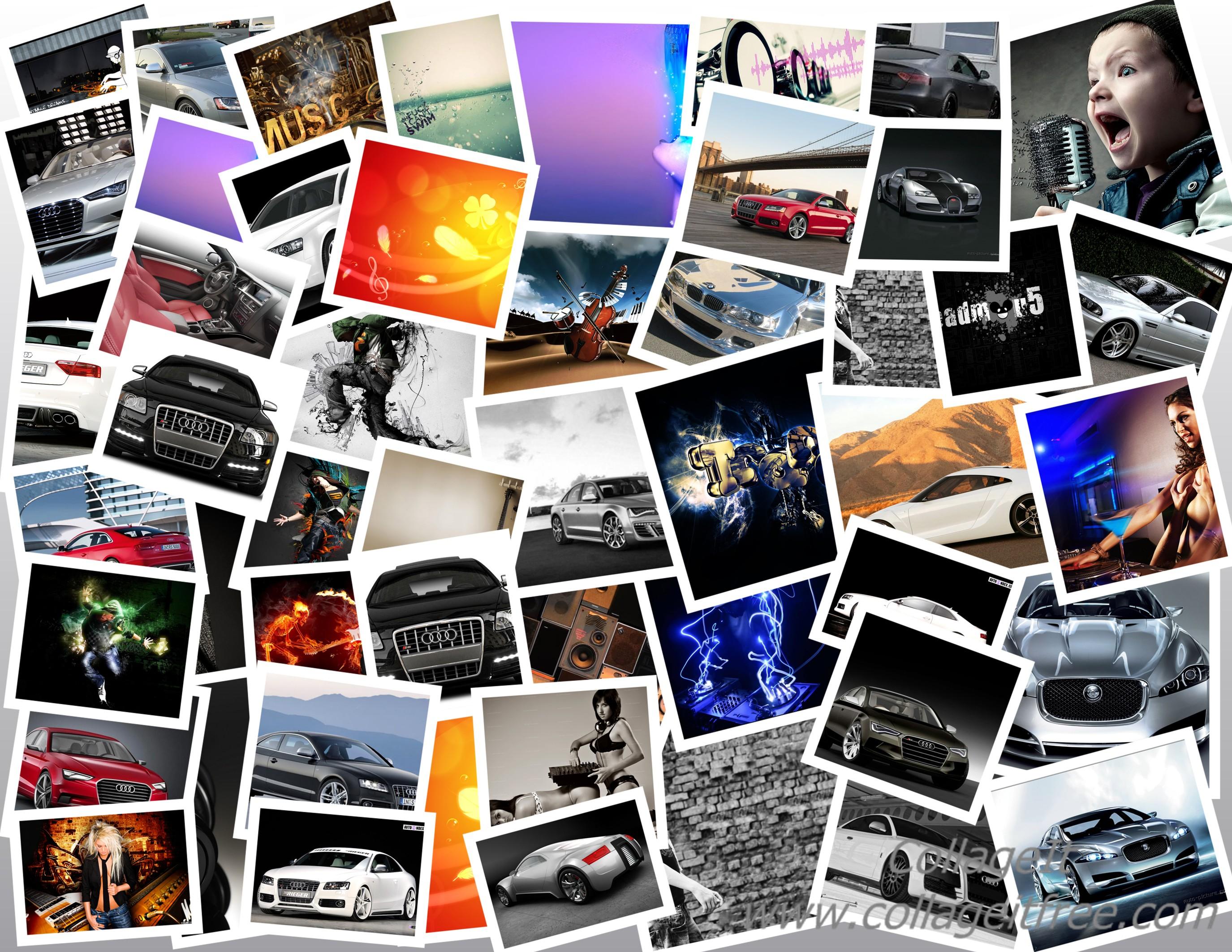 сделать онлайн коллаж из фотографий много